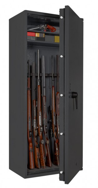 Gun Safe FORMAT Capriolo 2 open with weapon
