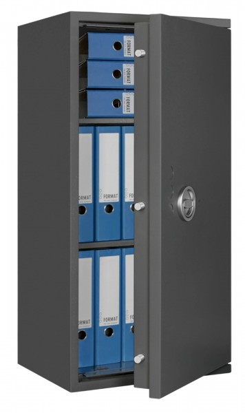 Furniture Safe Eurograde 1 FORMAT Lyra 7 filled and half opened