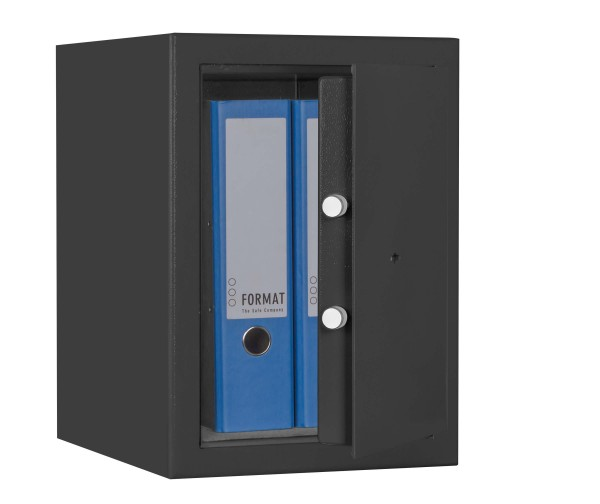 Furniture Safe FORMAT M 210 half opened and filled