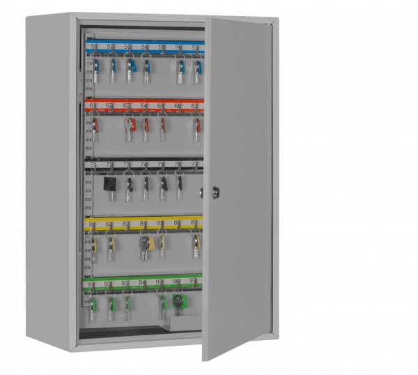 Key cabinet FORMAT S 300 - half open and with decoration