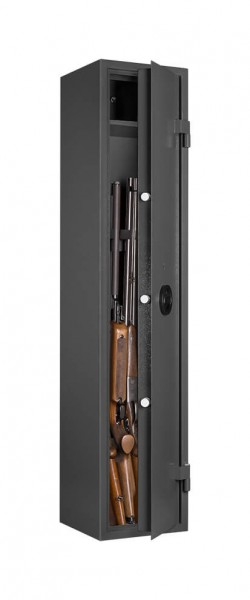 Gun Safe FOMRAT WF 145-5 filled and half opened