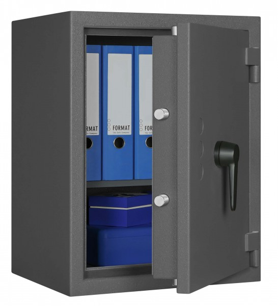 Burglary Safe Libra 2 filled and half open