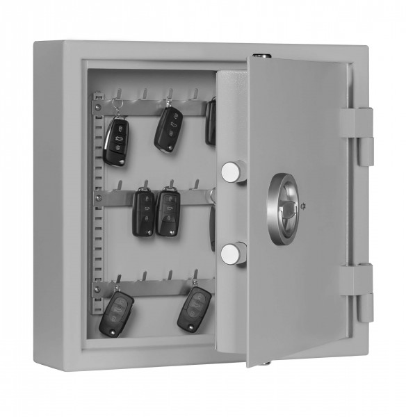 Car Key Safe Format ST 21 AS filled and half open