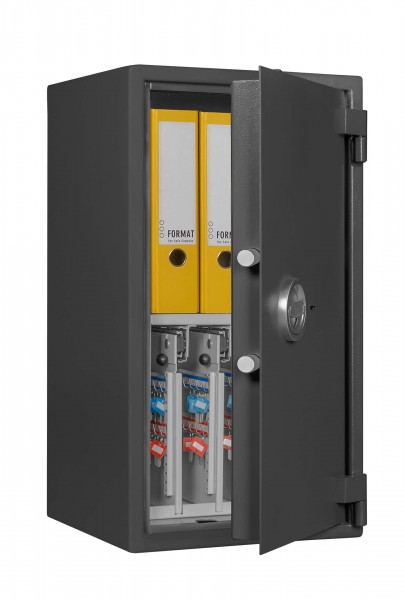 Key safe FORMAT STM 4-128 Combi - half open and with decoration