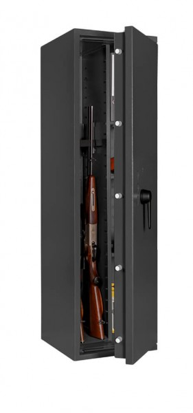 Gun Safe FORMAT Capriolo 8 open with weapon