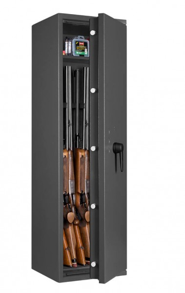 Gun Safe FORMAT Capriolo 7 open with weapon