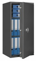 Furniture safe Lyra 7 - half open and with decoration