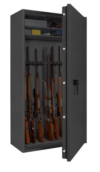 Gun Safe FORMAT Capriolo 4 open with weapon