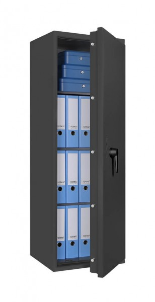 Burglary protection safe FORMAT Lyra 12 - half open and with decoration