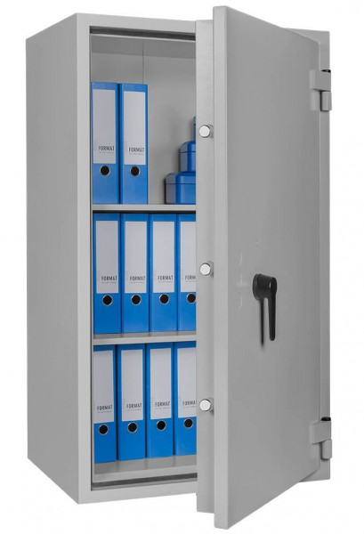 steel cabinet SB Pro 40 filled and half open