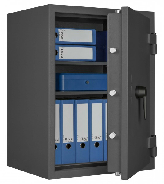 Burglary safe FORMAT Libra 20 - half open and with decoration