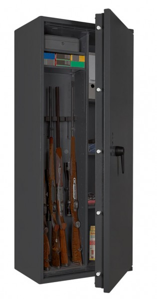 Gun Safe FORMAT Capriolo 3 open with weapon
